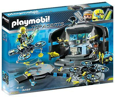 Playmobil 9250 Top Agents - Dr. Drone's Command Base *NEW AND SEALED* • 24.99£