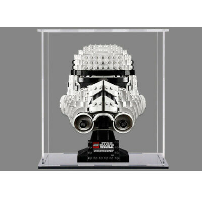 Display Case For LEGO Star Wars Stormtrooper Helmet 75276/Helmet 75274/75277 • 17.59£