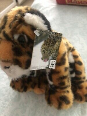 Small WWF Leopard Soft Toy - SEE PHOTOS • 8.99£