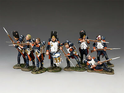 KING AND COUNTRY NAPOLEONIC The Old Guard Set # 1 NA-S01 • 379.95£