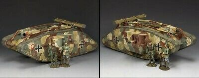 KING AND COUNTRY Guarding The Tank Set - WW1 FW-S01 • 218.95£