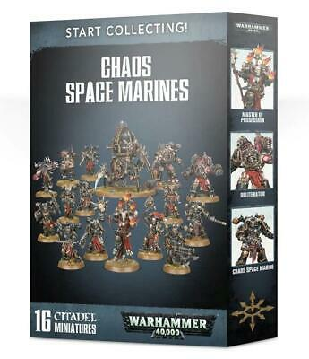 Start Collecting! Chaos Space Marines, Warhammer 40,000, 40k, Games Workshop • 60£