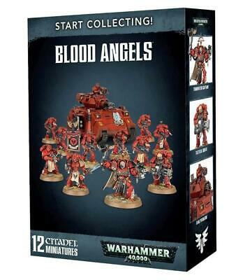 Start Collecting! Blood Angels, Baal Predator/Squad Warhammer 40,000 • 60£