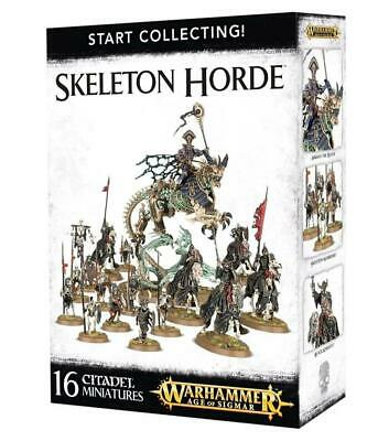Start Collecting! Skeleton Horde, Arkan The Black, Warhammer Age Of Sigmar • 55£