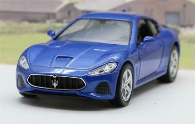 PERSONALISED PLATE Blue Maserati Diecast Model Boys Dad Toy Car Present Boxed • 9.95£