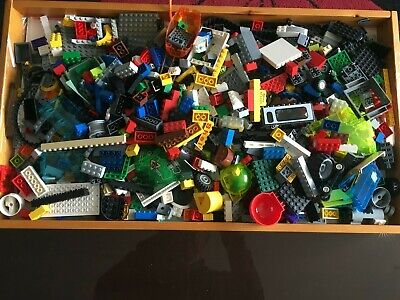 Job Lot Genuine Lego Bundle 1kg Random Mixed Bricks Parts  • 12.99£