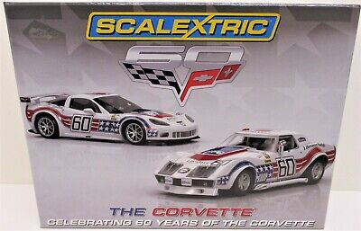 Scalextric - C3368A - The Corvette - Celebrating 60 Years              Slot Cars • 75£
