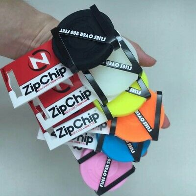 Zip Chip Silicone Flexible Mini Flying Disc Frisbee FREE SHIPPING ZipChip • 5.45£