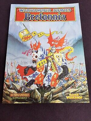 Warhammer Armies Bretonnia Warhammer Supplement Games Workshop • 14.90£