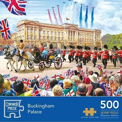 Buckingham Palace 500 Piece Jigsaw Puzzle (null), Toys & Games, Brand New • 6£