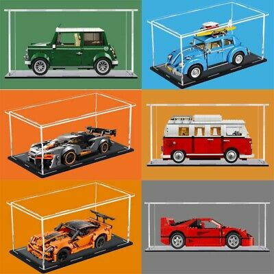 Display Case For LEGO Ferrari/Chevrolet/MINICooper/Volkswagen/Speed Car • 24.99£