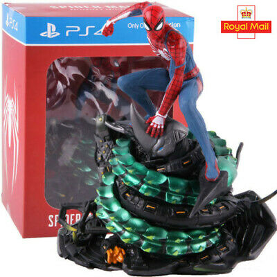 Marvel Limited PS4 Spider-Man Collector Figure Action Statue Model Toy UK • 35.20£
