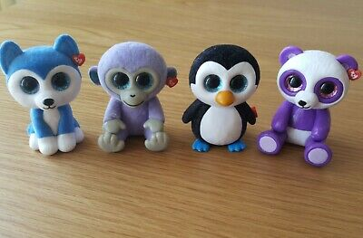 TY Beanie Boos Mini Figures (2 Inch) Mix Of Painted & Felt • 3.99£