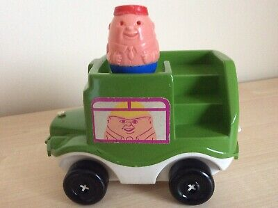 VINTAGE WEEBLES BUS AND DRIVER 1970'sb • 7.50£