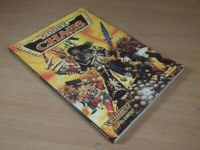 Warhammer Softback Book 1996 2nd Edition Chaos Codex • 30£