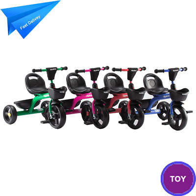 Baby Trike Pedal Tricycle 3 Wheels Bike Stroller Boys/Girls Toddlers Kids Toys • 28.99£