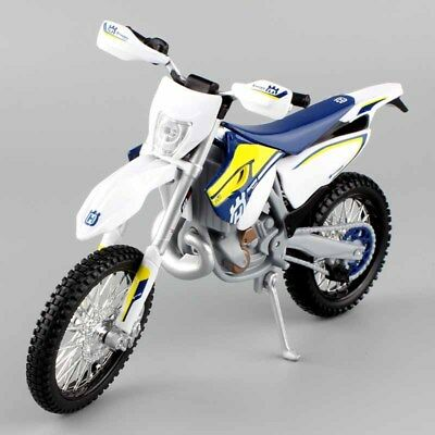MAISTO 1:12 HUSQVARNA FE 501 Toy Model Motocross Motorbike Dirt Bike Scrambler • 13.88£