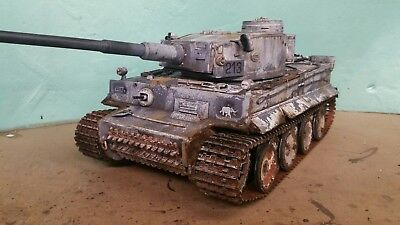 Heng Long 1/16 Tiger 1 Rc Model Tank Winter Camouflage  • 255£