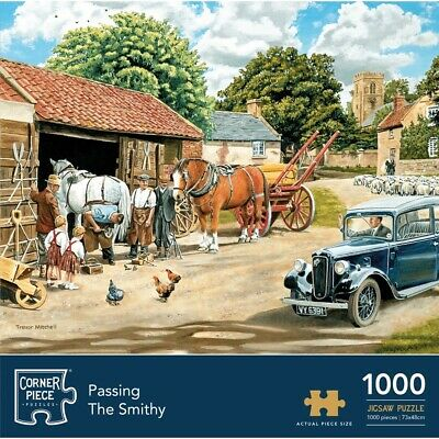 Passing The Smithy 1000 Piece Jigsaw Puzzle, Toys & Games, Brand New • 9£