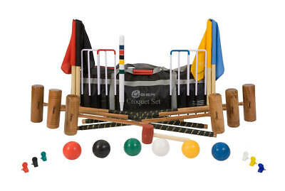Uber Games - Six Player Pro Croquet Set - Ex Hire • 184£