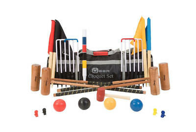 Uber Games - Four Player Pro Croquet Set - Ex Hire • 144£