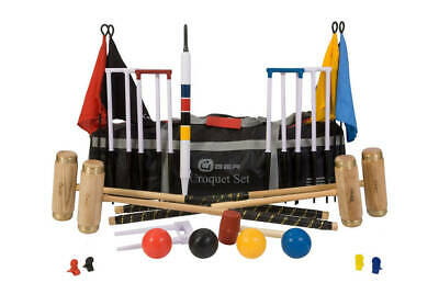 Uber Games - Four Player Executive Croquet Set - Ex Hire • 190£