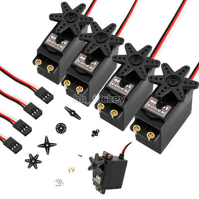 4pcs Standard High Torque Servo For S3003 Futaba Helicopter RC Car Plane Boat UK • 12.99£