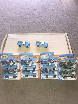 Hotwheels Job Lot Bundle Of Land Rovers All In Mint Condition  • 6.50£