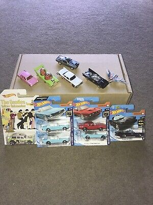 Hotwheels Joblot Bundle TV And Film Diecast Models All In Mint Condition  • 2.20£