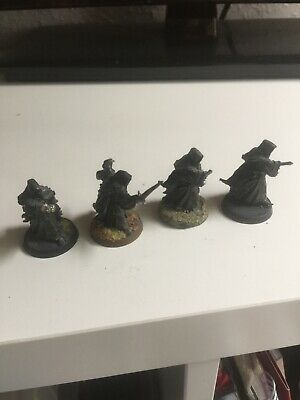 4 Ringwraiths - Nazgul - Metal - Painted • 15£