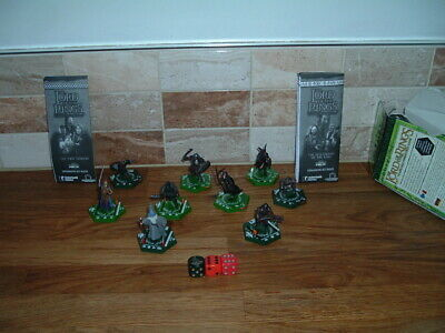 8 Lord Of The Rings Gaming Figures   Fantasy    Used • 12£
