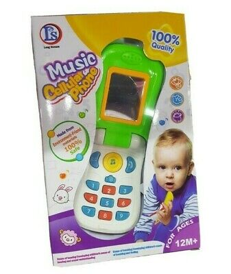 Kids Toy Phone New Learning Toy Mobile Phone Educational Baby Early Learning • 5.49£