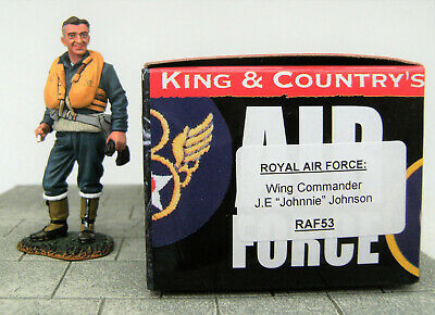 King & Country RAF053 Wing Commander J E Johnnie Johnson 2012 Retired Figure  • 37£