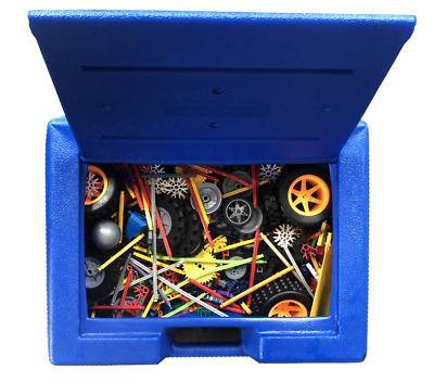 Knex Box Large Blue With Parts Build Combine Create Anything • 28.99£