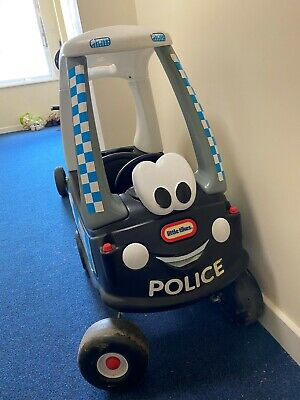 Little Tikes Cozy Coupe Police Car Ride On Kids Push Along • 13£