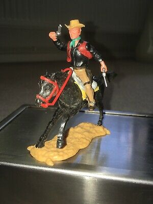 Vintage Timpo Mounted Cowboy Fourth Series • 14.99£