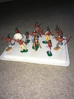 Vintage Timpo Indians • 9.99£