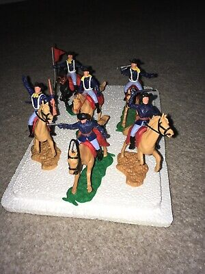 Timpo Mounted  Cavalry Soldiers X 6 • 29.99£