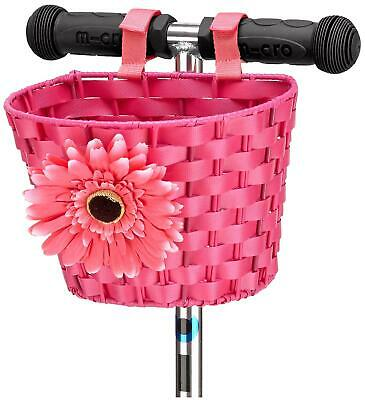 Micro Scooters MICRO SCOOTER SCOOTER BASKET - PINK Outdoor Toy Accessory BN • 15.49£
