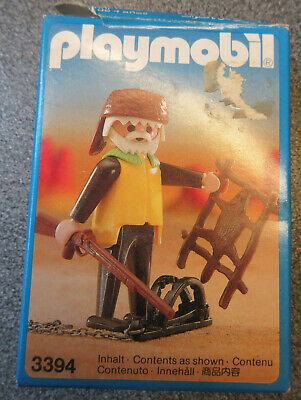 Playmobil 3394 Trapper  Rare  • 15£