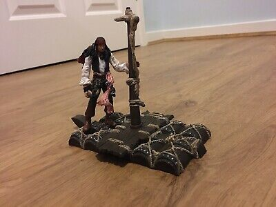 Pirates Of The Caribbean: Jack Sparrow Shipwrecked Complete Figurine Set • 6.50£