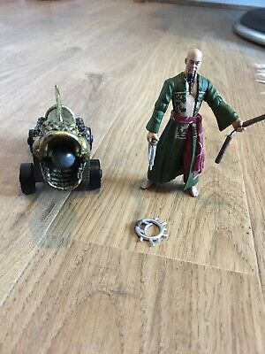Pirates Of The Caribbean: Sao Feng With Firing Canon - Fully Working! • 6.50£