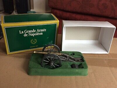 MHSP 1/32 Boxed Metal French Napoleonic Cannon • 2.99£