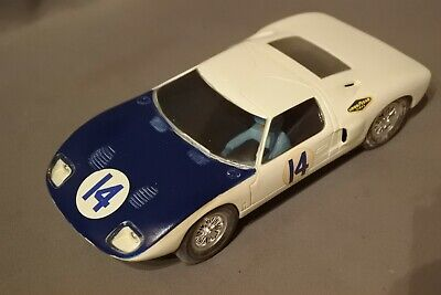 K&b Aurora 1/24 Ford Gt 40 1800 Working Lovely Condition • 3.20£