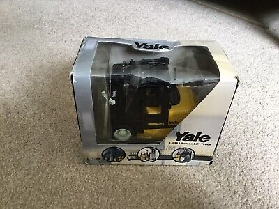 YALE  FORK LIFT TRUCK* 1:25 Scale Diecast Model New In Box 2001 ( LJ/MJ SERIES ) • 5.99£