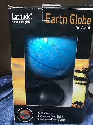 Exerz Educational Swivel World Globe Desktop Globe Dia 20CM  • 14£
