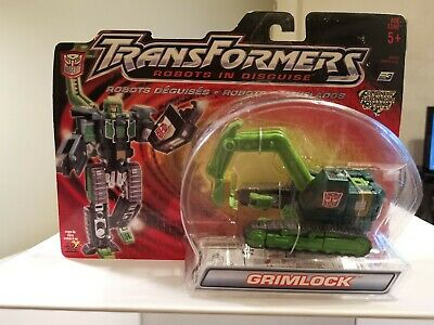 New Transformers Robots In Disguise Grimlock MOSC Rid 2001  • 25£
