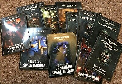 Games Workshop Warhammer 40,000 8th Edition Books • 10£