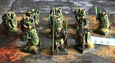 Warhammer Fantasy Chaos Warriors With Hand Weapons / Shield X 9 B143 • 19.95£