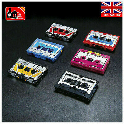 Transformers 6 Tapes Set For THF01J MP13 Soundwave Tape Recorder Kid's Gifts UK • 29.89£